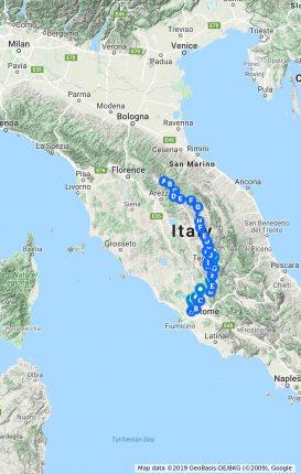Cammino di San Francesco