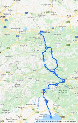 Ciclovia Alpe Adria